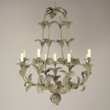 Compiegne Chandelier Small, Green
