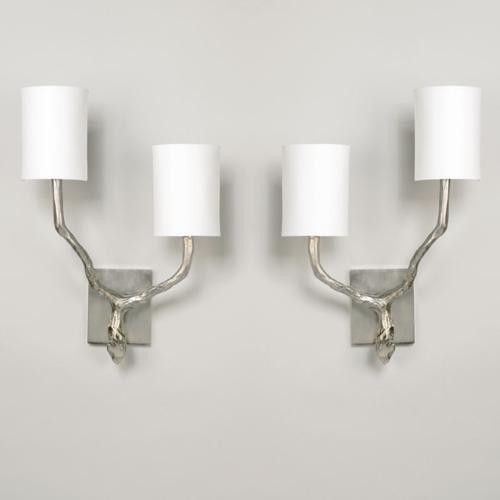 Twig wall lights twin arm products twig wall light us nickel shown with 4 long half white card aloadofball Choice Image