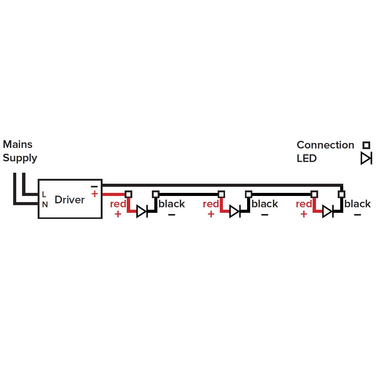 Txdel 700d Constant Current Driver 4chip Products Additionally Light Ballast Wiring Diagram On 0 10v Dimming Led