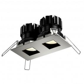 Cuadro Twin LED square downlight