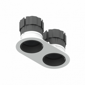 Dino Tilt & Rotate Twin LED downlight