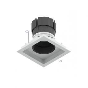 Look Tilt & Rotate LED square downlight