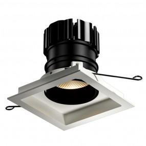 Look Adjustable square downlight