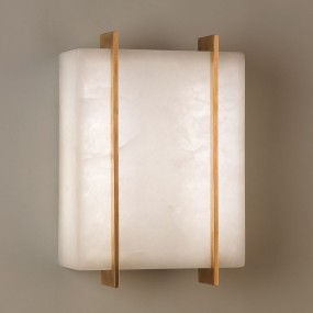 Stockport Alabaster Wall Light