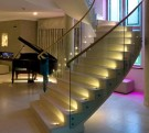 LD64 lighting a staircase in North London