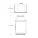 Large lantern dimensions