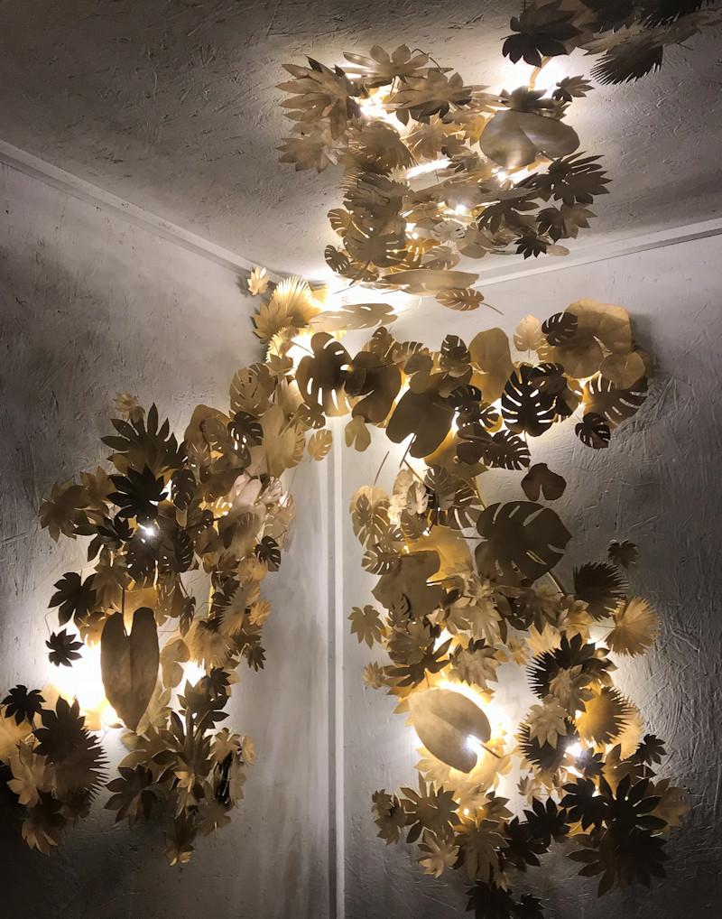 Art et Floritude decorative lighting at London Design Festival 2018
