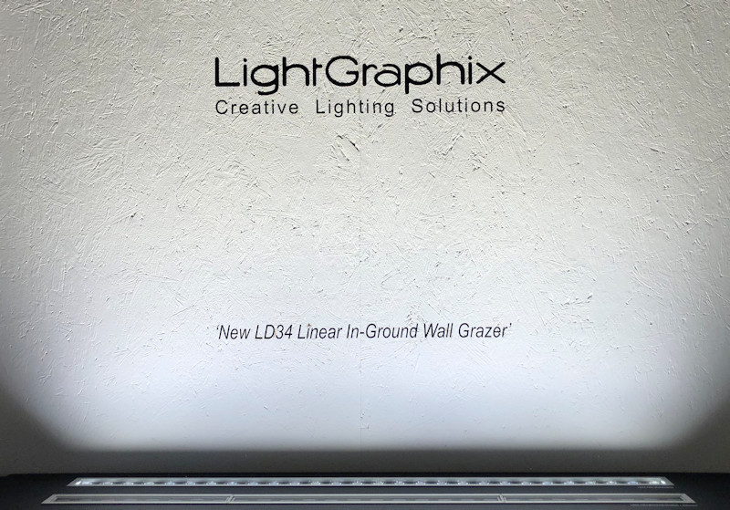 launch of LightGraphix LD34 at London Design Festival 2018