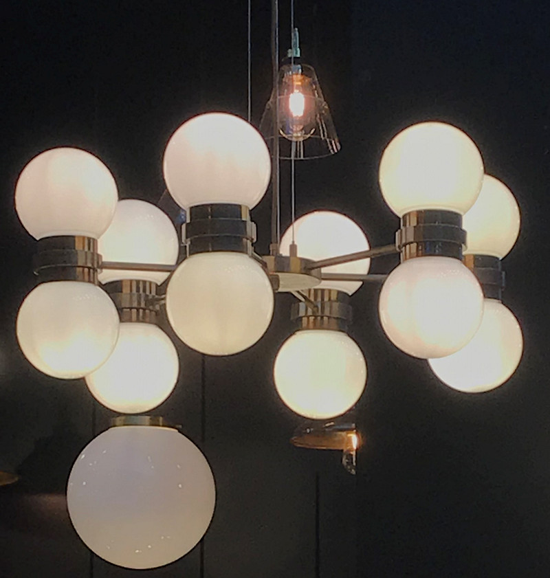 Mullan Globe Pendant at London Design Week 2018