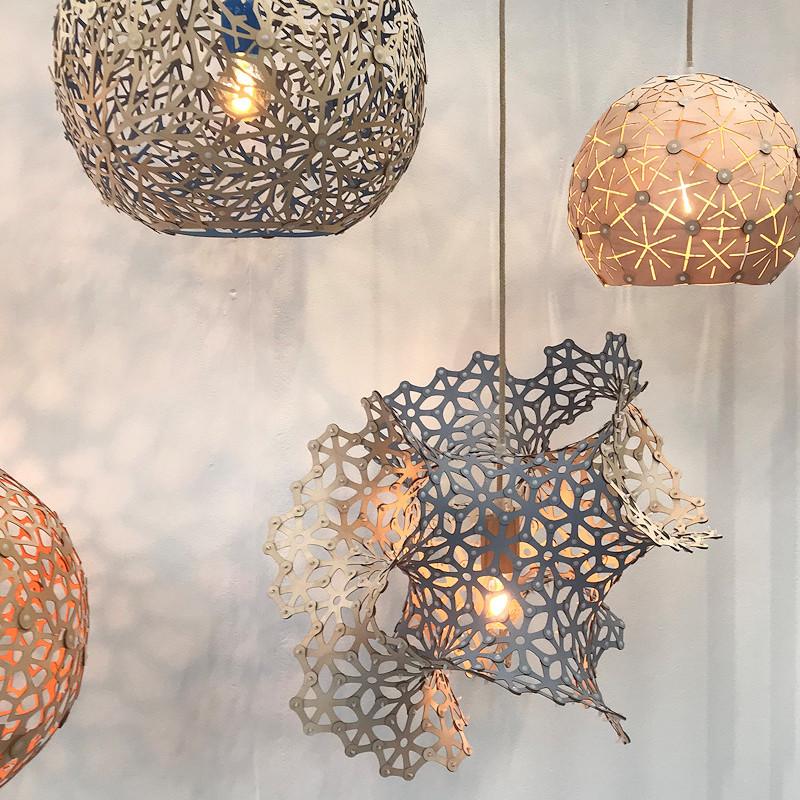 Ned Abbott pendants at London Design Festival 2018