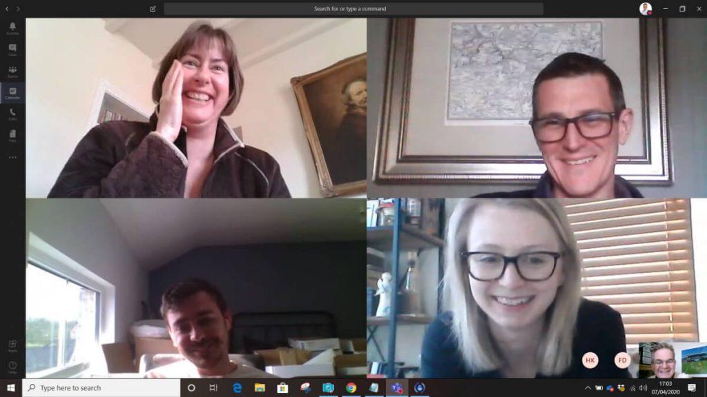 Brilliant Lighting Teams Meeting Screenshot