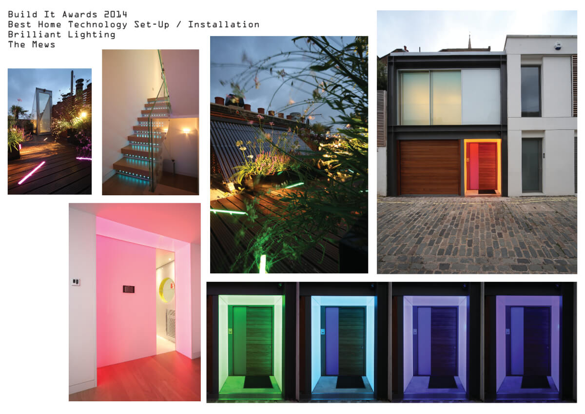 Colour changing architectural light - awards entry submission
