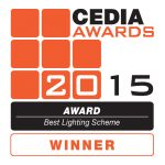 Winner CEDIA Awards 2015 - Best Lighting Scheme