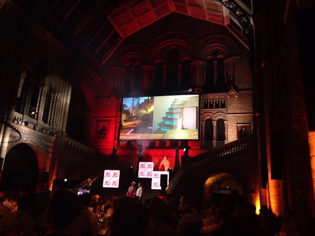 CEDIA Awards Ceremony 2015 - Best Lighting Scheme Winner