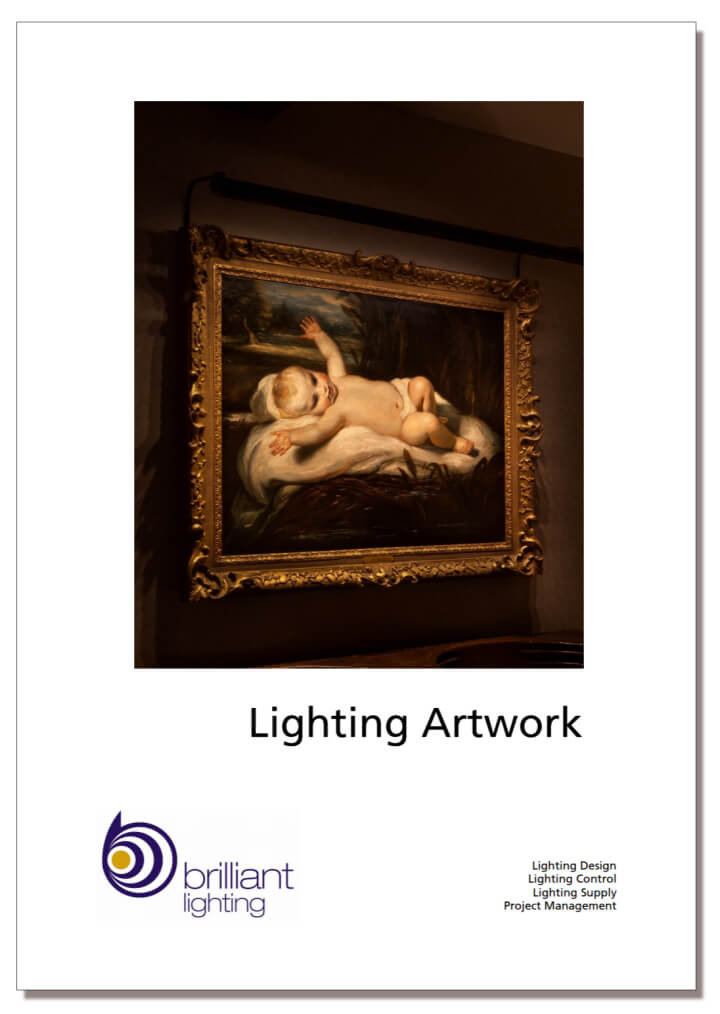 Lighting Artwork - a collection of case studies, testimonials and product information