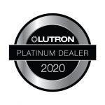 Lutron Platinum Dealer 2020 Logo