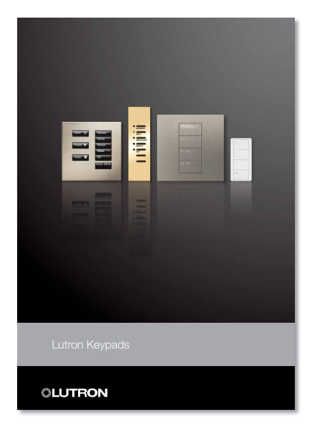 Lutron Keypad Brochure - US and International ranges