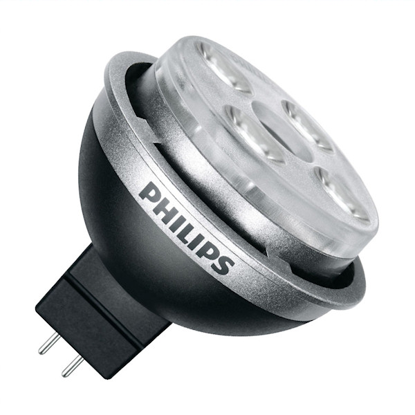A Philips Master LED replacement lamp